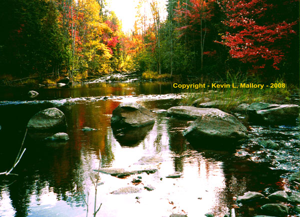 1 - Autumn Sanctuary on the Bonnechere River - Kilaloe, Ont