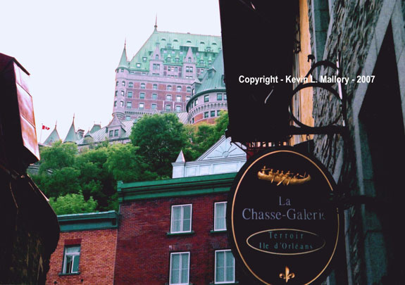20 - View of the Chateau Frontenac - Old Quebec City