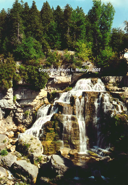 11 - The Mighty Inglis Falls - Owen Sound, Bruce Peninsula, Ont