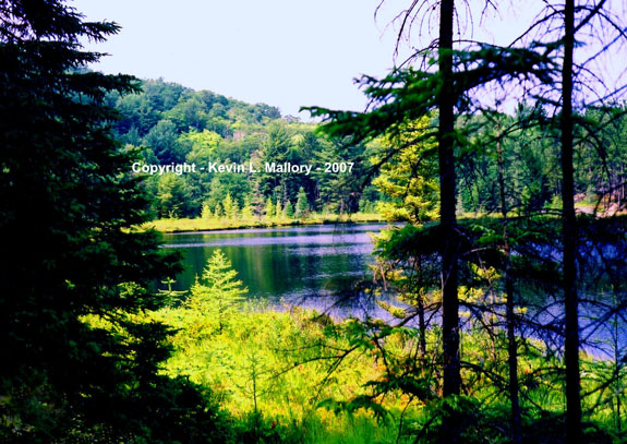 17 - Mountain Lake on the Centennial Ridges - Algonquin Park, Ont