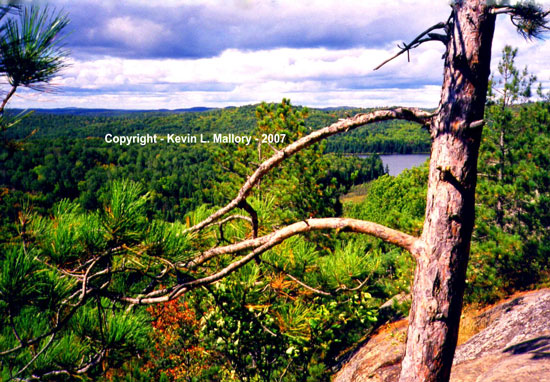 17 - The Booth's Rock Lookout - Algonquin Park