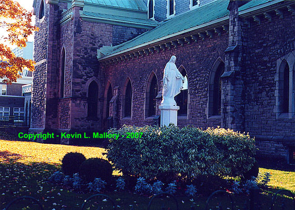 1 - Statue of the Mother Mary at St. Patrick's Cathedral - Ottawa, Ont