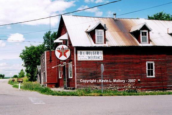 5 - The Old General Store and Texaco Gas Depot - near Lac Dore - Ontario
