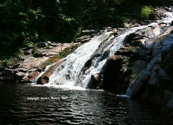 15 - Waterfalls in the Park - Margaree Valley, Cape Breton