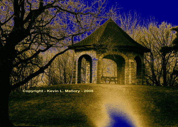 12 - The Gothic Gazebo in Early Evening