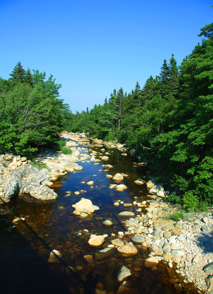 19 - Rocky River in the Margaree Valley - Cape Breton
