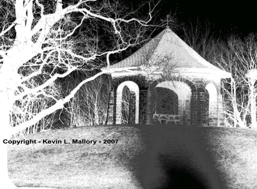 8 - The Eerie Gothic Gazebo at Midnight
