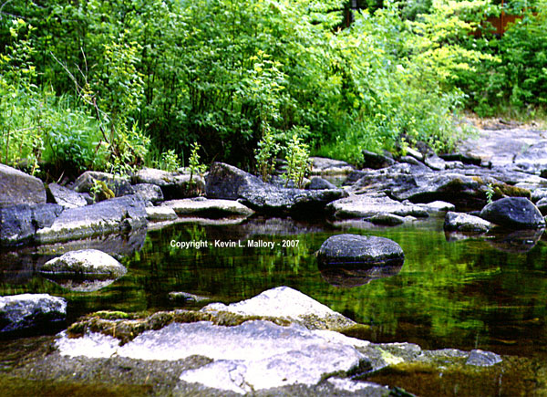 30 - The Peaceful Lagoon on the Madawaska River - near Lake Calabogie, Ont