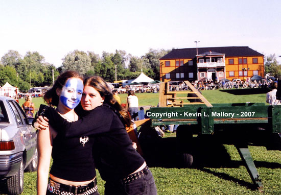 7 - Two Great Friends at the Highland Games - Almonte, Ont - 2005