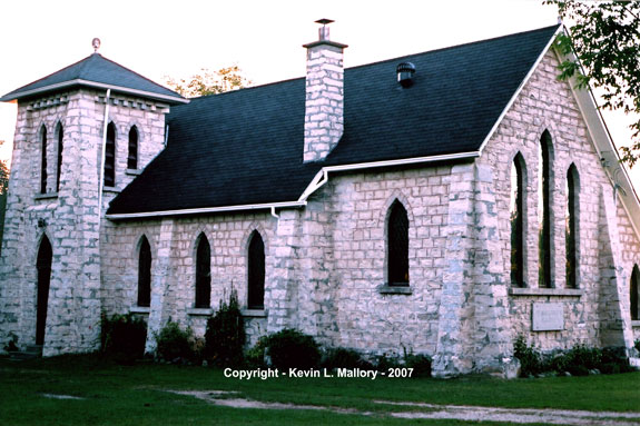 8 - St. Margaret's Anglican Chapel, Cape Chin - Bruce Peninsula,  Ontario