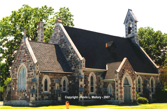 13 - An Old Heritage Anglican Church - Lakehurst, Ontario
