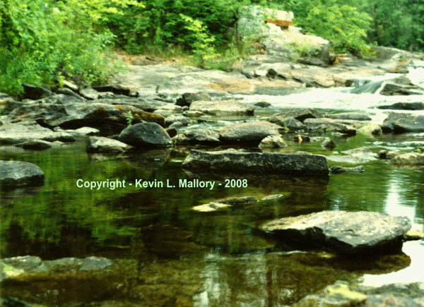 31 - Still & Tranquil Waters on the Madawaska River - near Calabogie, Ont