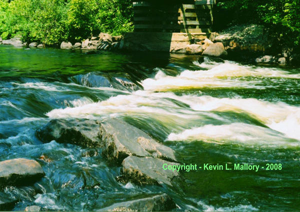5 - Fresh Water Rapids - past Algonquin Park, Ont