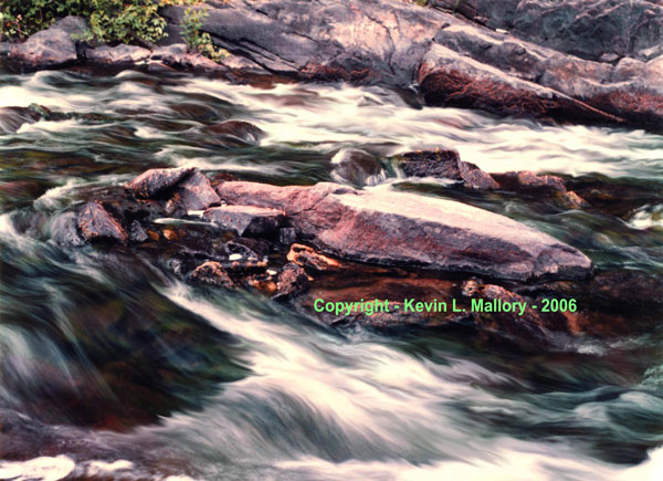 33 - Beautiful Rapids on the Madawaska River - near Lake Calabogie