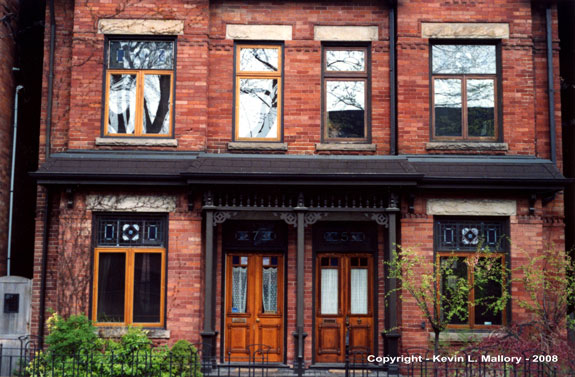 2 - Classic Early Architecture of Cabbage Town - Toronto, Ont