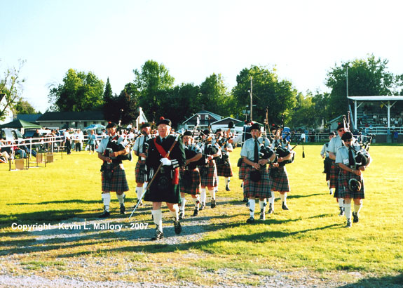 5 - Opening Ceremonies Parade at the Almonte Highland Games - 2005