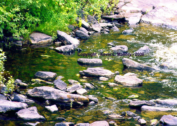 68 - The Fresh Water of the Madawaska River - near Lake Calabogie, Ont