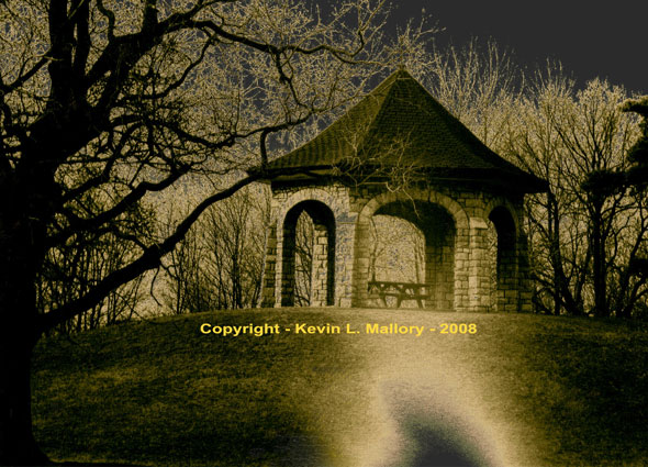 13 - The Gothic Gazebo in the Dead of Night